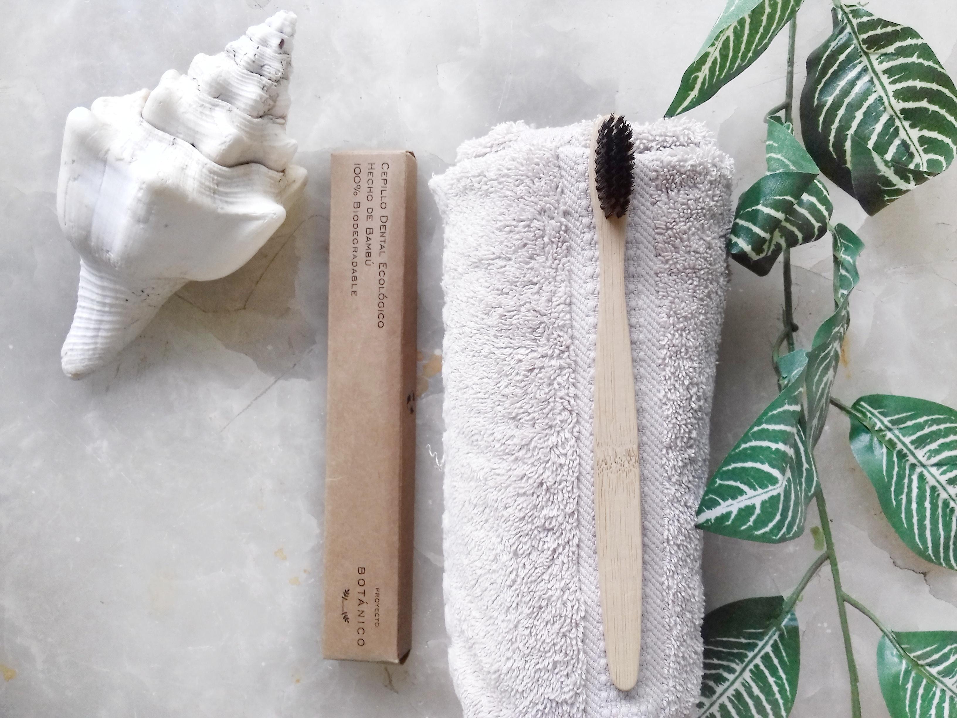 cepillo de dientes ecologico bambo